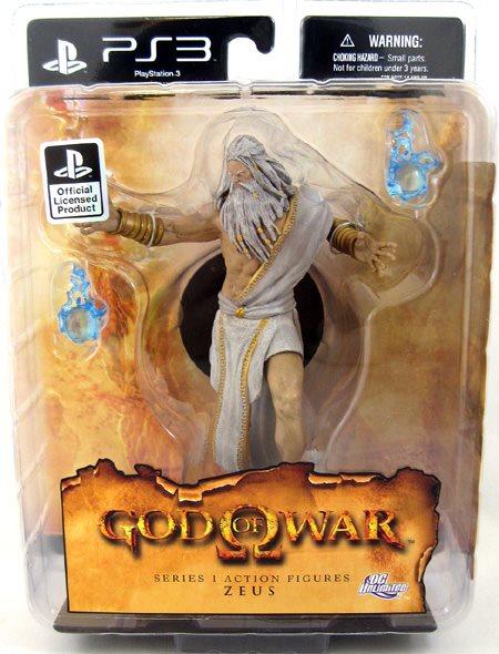God Of War III 6 Inch Action Figure Series 1 - Zeus