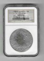 NGC Genuine 1783 MO FF Mexico 8R El Cazador Shipwreck Coin