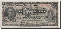 1 Peso 1895 Argentinien Banknote