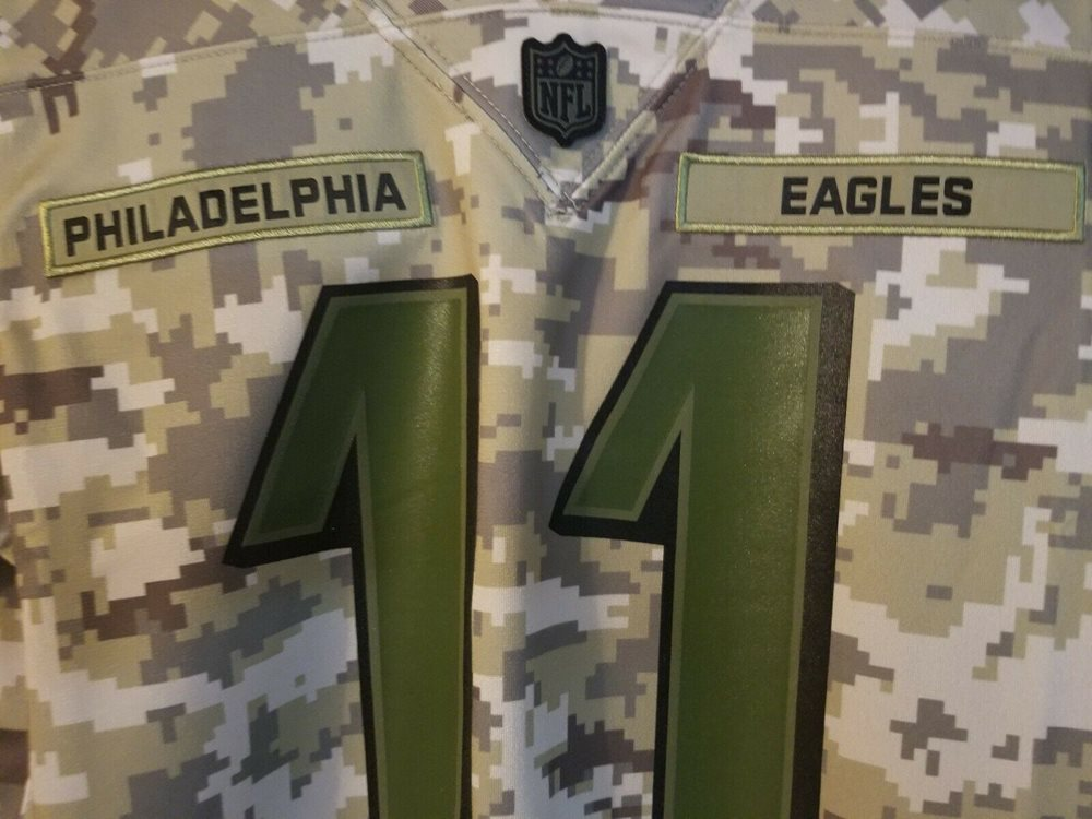 1df33c01 Nike Carson Wentz Youth Salute To Service Jersey Youth Size M Eagles