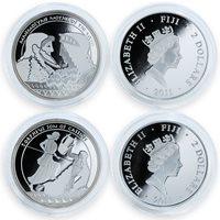 Vaitupu 7 dollars set of 7 coins Wonders of the Ancient World 2017
