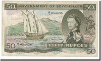 50 Rupees Seychelles Banknote, 1969-01-01, Km:17b