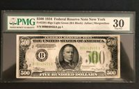 1934 $500 Federal Reserve Note Fr.2201 B NY PMG VF30 LGS PQ/LOW-NO Comments LOW