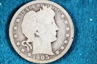 ESTATE FIND 1905-O Barber Quarter!! #F4219