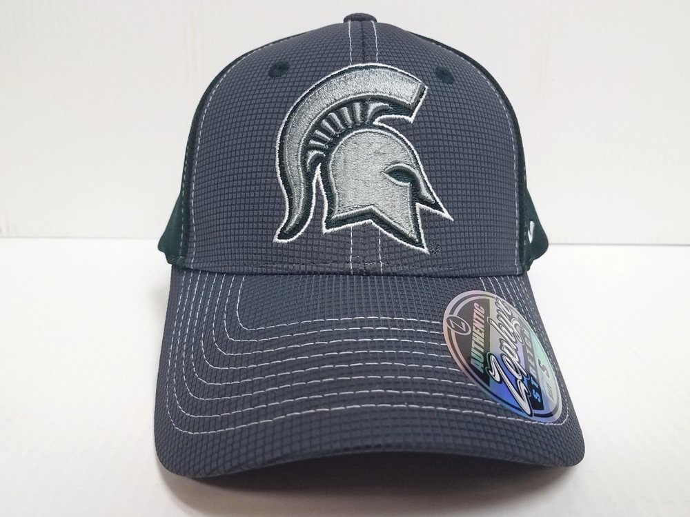 size 40 7931d 52e1e Michigan State Spartans Cap Zephyr Stretch Fit Fitted G