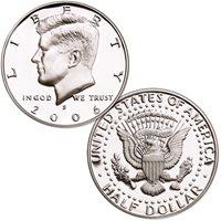 2006-S 90% Silver Kennedy Half Dollar