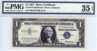 1619 (BB Block), $1 Silver Certificate, 1957