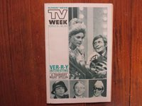 March 14, 1971 Lancaster Pa TV Week Magazi(ARTE JOHNSON/ELKE SOMMER/BEN GAZZARA)