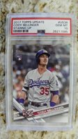 2017 TOPPS UPDATE US38 CODY BELLINGER STARING UP SP PSA 10 GEM Mint