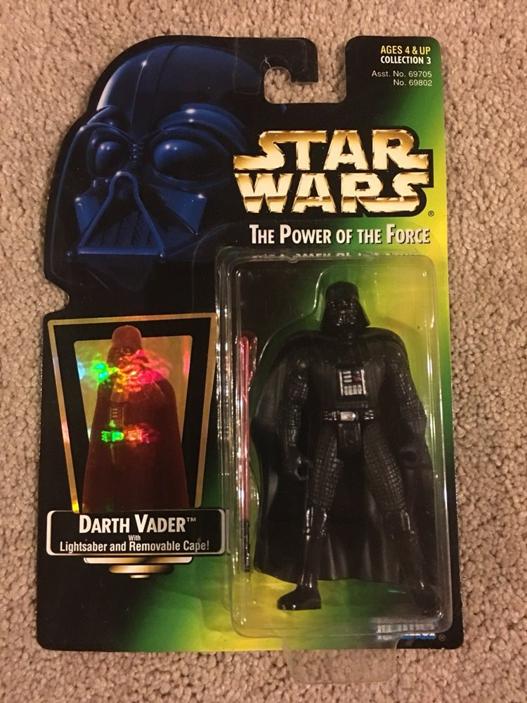 Star Wars Power of the Force Darth Vader Action Figure