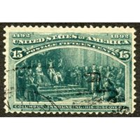 US 238 Early Commemoratives Used F + Nibbed Perf Left