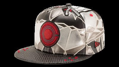 Cyborg Justice League Armor All Over 59Fifty Fitted Hat 0db54b9a20a
