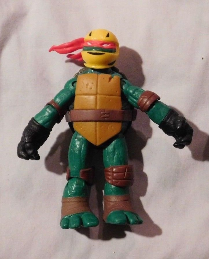 2012 Tmnt Nickelodeon Ninja Stealth Bike Raphael 5 Act