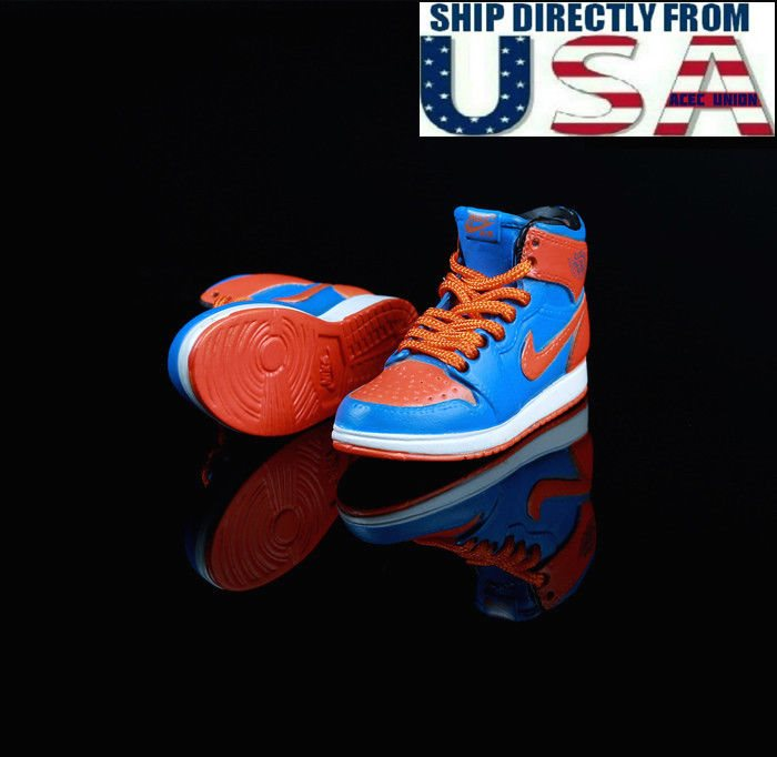 """1//6 Men Shoes Sneakers BLACK For 12/"""" Phicen Hot Toys Custom Male Figure ❶USA❶"""