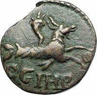 SEVERUS ALEXANDER 222AD Parium Parion Mysia Ancient Roman Coin CAPRICORN i79753