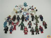 Diamond Select Massive Lot of Marvel Minimates and Accessories (1A)