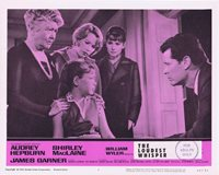 THE LOUDEST WHISPER Lobby Card 3 Shirley MacLaine Audrey Hepburn Childrens Hour