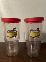 Tervis Tumbler cups from the Masters Pro Golf Tournament large