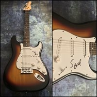 GFA Sucker Punch Strangers * SIGRID * Signed Autographed Electric Guitar S1 COA