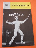 August - 1968 - Palace Theatre Playbill - George M - Joel Grey