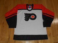 5b20ef1f8 Vintage 90s Starter PHILADELPHIA FLYERS Mens Stitched NHL Team HOCKEY  JERSEY Med
