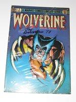 Marvel Limited Edition Wolverine #2 Metal Sign Signed Joe Rubintein +Penguin