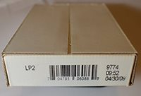 SEALED BOX US MINT LP3 2009 P D LINCOLN TWO ROLL SET PROFESSIONAL  LIFE