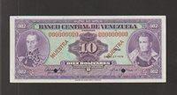 10 Bolivares Banknote 27 1 76 Venezuela