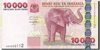 10,000 Shilingi Tanzania Banknote, Undated (2003), Km:39