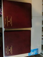92 US Commemorative Stamp Collector Panels in Postal Commemorative Society Binde