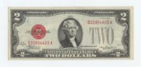 1928D $2 US Note (#1432)