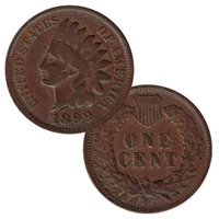 Readable Date 1906 Indian Head Cent Penny One Random Coin Good Or Better