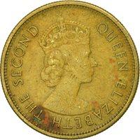 Coin, East Caribbean States, Elizabeth II, 5 Cents, 1965, Nickel-brass, KM:4