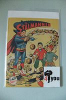 7.0 FN/VF SUPERMAN BATMAN WORLD´S FINEST N.N. SWEDISH EURO VARIANT OWP 1951