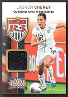 Soccer Cards Sports Trading Cards Shannon Boxx US Women's Soccer Materials Relic Card 2012 Panini Americana /199