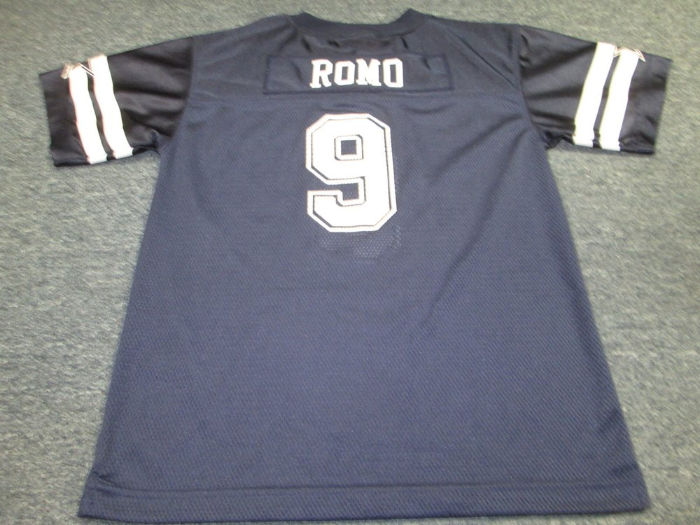 hot sale online 210f0 0e433 AUTHENTIC APPAREL NFL DALLAS COWBOYS TONY ROMO YOUTH JERSEY SIZE XL