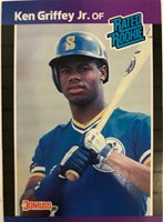 Ken Griffey Jr Baseball Card 1989 Donruss 33
