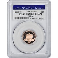 IN STOCK 2019-W LINCOLN CENT PCGS MS68RD FIRST DAY ISSUE READY TO SHIP!!