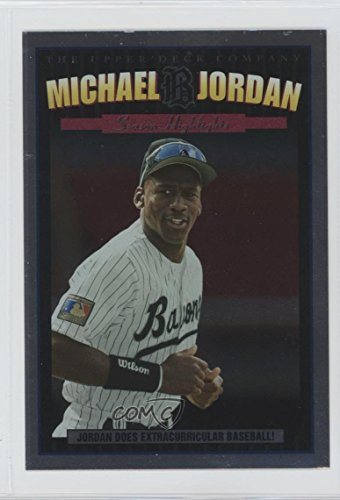 Michael Jordan Baseball Card 1995 Upper Deck Minor League Top Prospect Michael Jordan Season Highlights Jumbos Mj 5