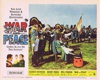 WAR AND PEACE Original Lobby Card 7 Audrey Hepburn Henry Fonda