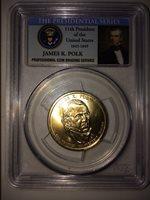 Pcgs Ms 65 Presential Polk Dollar