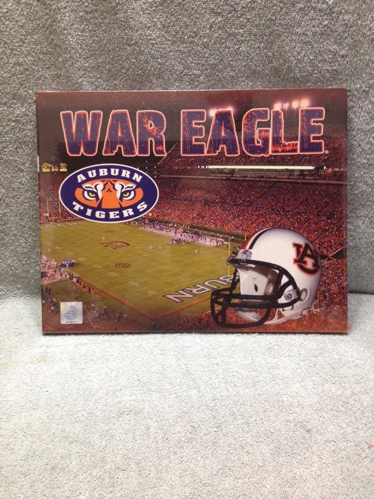 Auburn University Canvas Wall Art, War Eagle Design