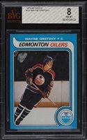 1979 Topps WAYNE GRETZKY Rookie Edmonton Oilers BGS BVG 8 CENTERED