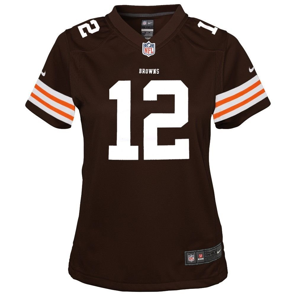 fea59784 Colt McCoy Cleveland Browns Nike Home Brown Jersey Girls Youth (S-XL)