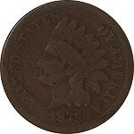 1879 Indian Head Cent Grade G