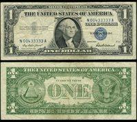 FR. 1619 $1 1957 Silver Certificate N00433333A Very Fine