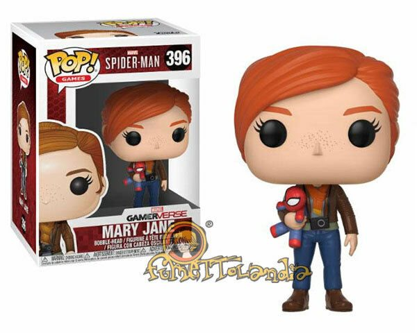 Vinyl Figure #396 Spider-Man Mary Jane with Plush Pop
