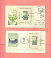 LOT OF 2 US FDC FIRST DAY COVERS #797 S.P.A. ASHVILLE 1937 Richard Dyer