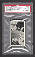 Greta Garbo Lionel Barrymore 1940 A&M Wix Cigarette Card #226 PSA 8 NM-MT