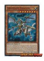 SR02-EN000 Arkbrave Dragon Ultra Rare 1st edition Mint YuGiOh Card